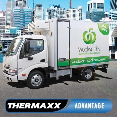 Woolworths Online Delivery Truck with Thermaxx Truck Body