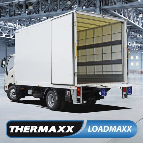 Truck with Thermaxx Loadmaxx Body