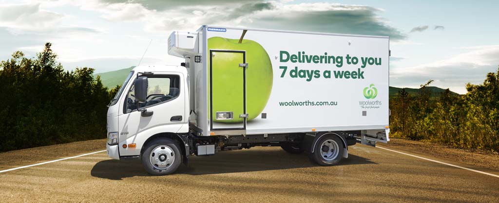 Woolworths truck
